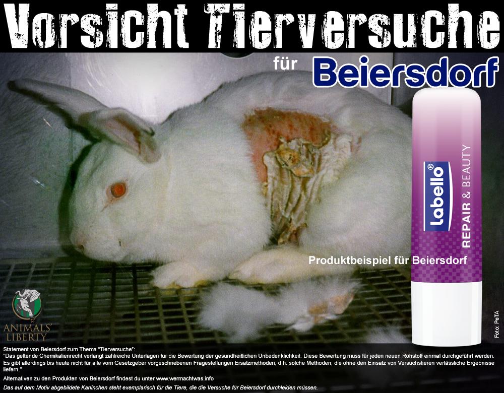 Vorsicht Tierversuche